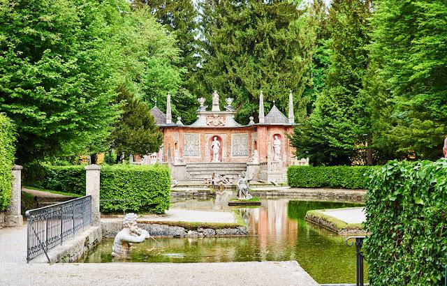 Fuentes del Palacio Hellbrunn en Salzburg