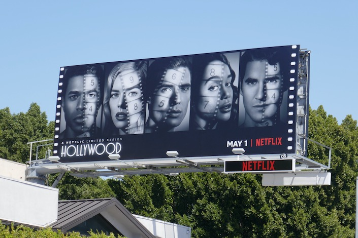 Hollywood series premiere billboard