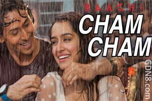 Cham Cham - Monali Thakur & Meet Bros - Baaghi