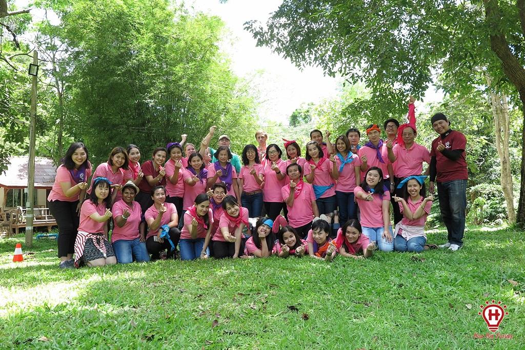 ทีมบิ้วดิ้ง ครูโรงเรียนราชโบริกานุเคราะห์ ณ สวนผึ้ง ราชบุรี