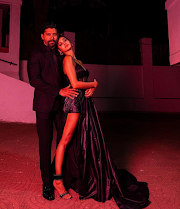 Photographs: Farhan Akhtar presents with his 'woman dressed in dark' Shibani Dandekar and it is everything LOVE