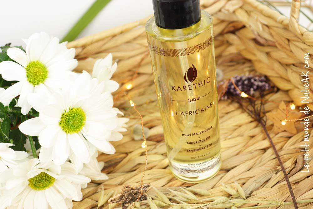 huile pour cheveux secs