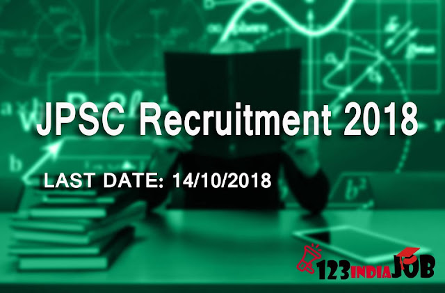 JPSC recruitment 2018 for Assistant Public Health Officer