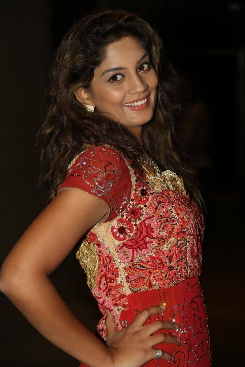 Karuna Stills In Red Dress