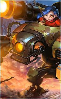 Jawhead Steel Sweetheart Heroes Fighter of Skins V3
