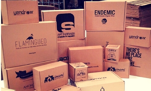 cajas automonbles para ecommerce personalizadas
