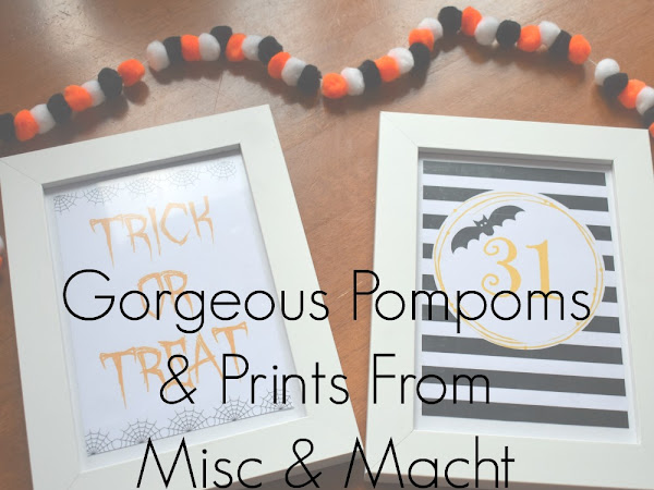{AD/Review} Gorgeous Pompoms & Prints From Misc & Macht