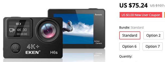 Low Cost Action Camera ගැන - මනුෂගේ බ්ලොග් සටහන