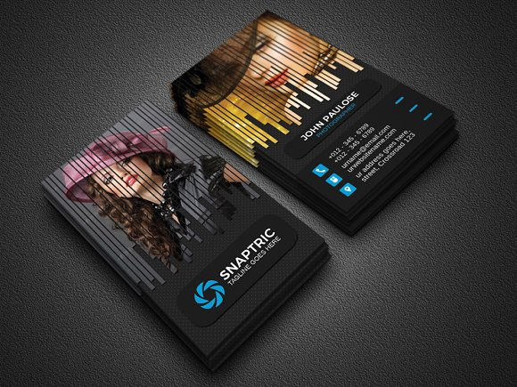 Creative Photography Business Cards Design - The Photo Mag