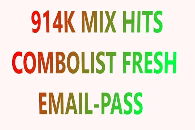 914K MIX HITS COMBOLIST FRESH EMAIL-PASS