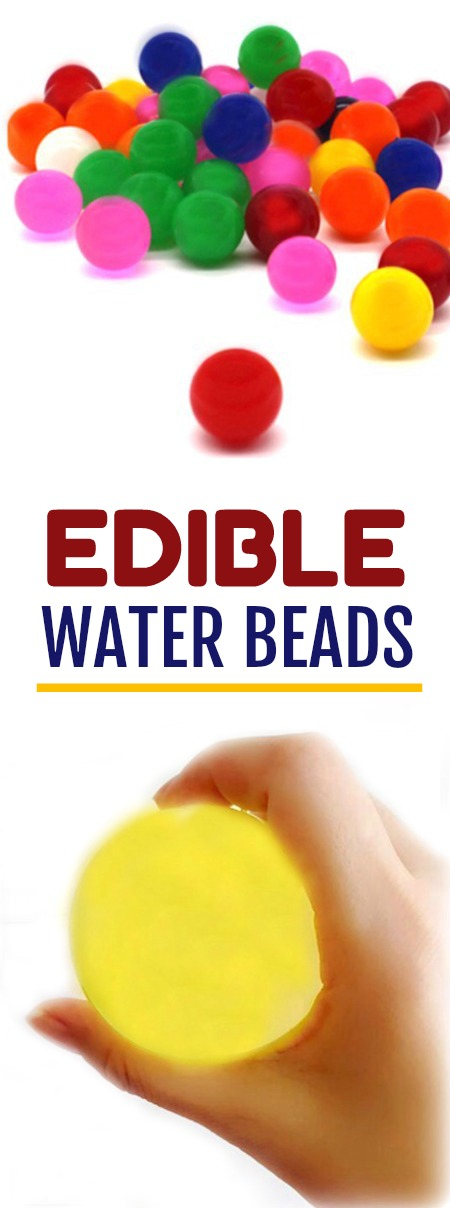 EDIBLE WATER BEADS- how to make them, ways to play, tips, & more!!