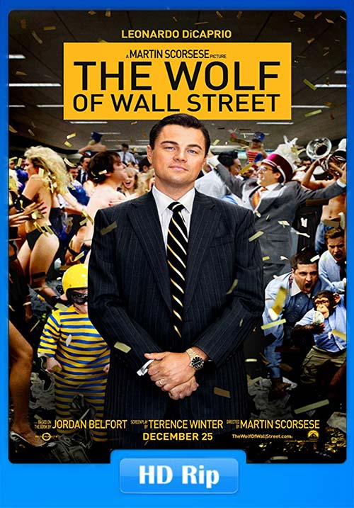 The Wolf of Wall Street 2013 720p BluRay x264 | 480p 300MB | 100MB HEVC Poster