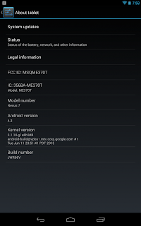 Despite the claims of this updated version volition last available for devices using the  (Tutorial) Install All Android 4.3 official version for Nexus 4, Nexus 7, Milky Way Nexus together with Nexus 10