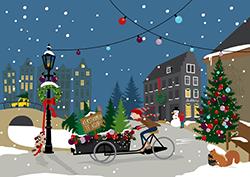 Uitgelezene Gratis lespakket om kerstkaarten te maken ~ OVERBLIJF MAGAZINE SF-72