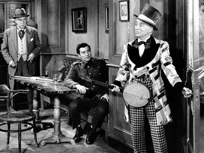 Nigel Bruce, Sydney Chaplin e Charlie Chaplin
