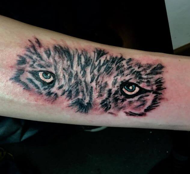 Wolf eye Tattoos