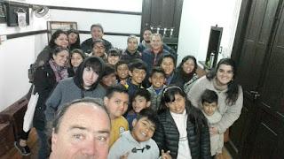 Niños y vecinos de la Fundación Arché visitaron La Biblioteca y el Museo Histórico de Monte Chingolo