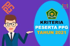 Kriteria Peserta PPG Guru Madrasah dan GPAI Dengan Biaya APBN 2021