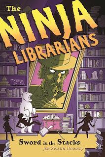 ninja librarians sword in stacks cover
