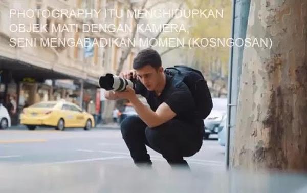 Kata Kata Mutiara Fotografer Tentang Kamera Buat Caption Yang Keren Kosngosan
