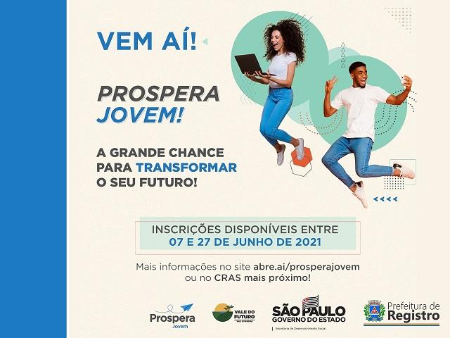 Programa Prospera Jovem abri inscrições para estudantes das 2 e 3 séries do ensino médio da rede pública
