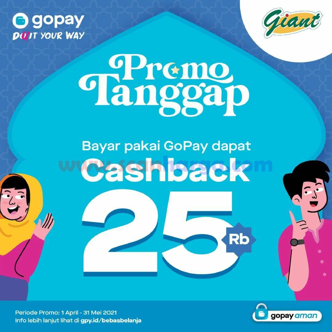 GIANT Promo GOPAY - Dapatkan CASHBACK hingga Rp 25.000