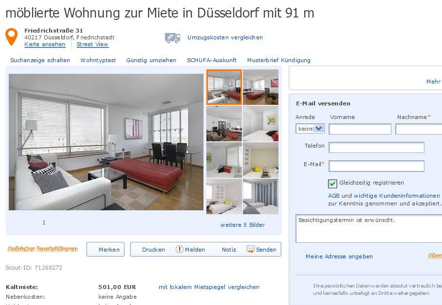 danielpfister111 m blierte wohnung zur miete in d sseldorf. Black Bedroom Furniture Sets. Home Design Ideas