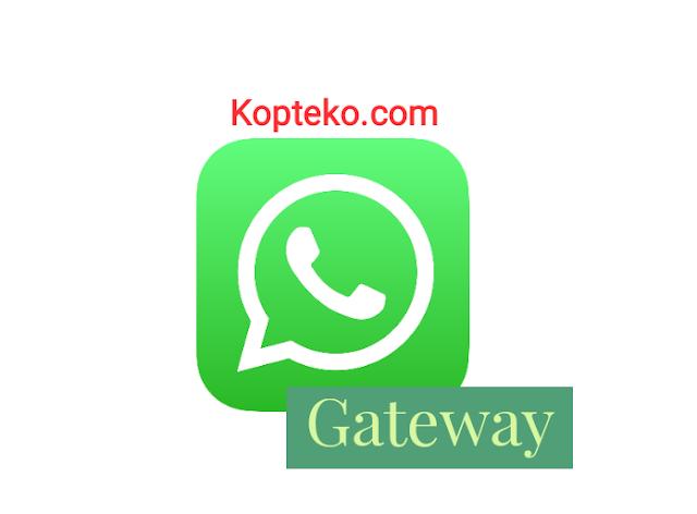 Cara Membuat WhatsApp Gateway