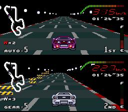 Jogue Top Gear rom Super Nintendo online