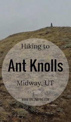 Hiking to Ant Knolls, Midway, Utah