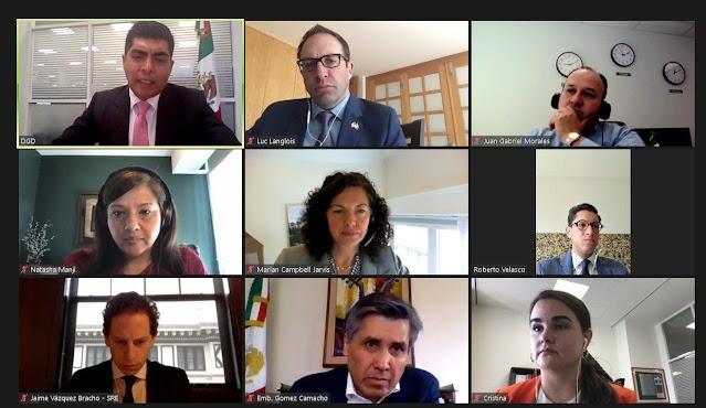 Gobiernos de México y Canadá llevan a cabo reunión de alto nivel sobre movilidad