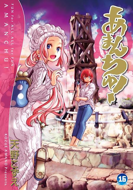 El manga Amanchu! de Kozue Amano llega a su final.