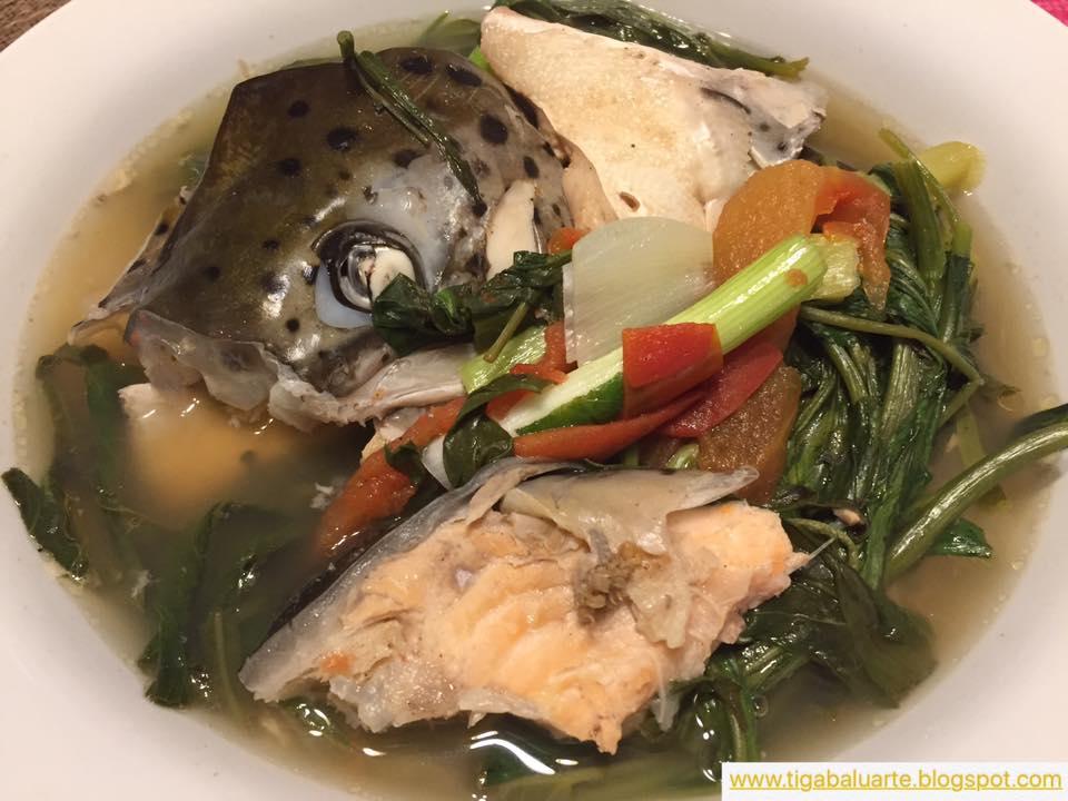 Casa baluarte filipino recipes salmon head sinigang recipe for Fish head soup recipe