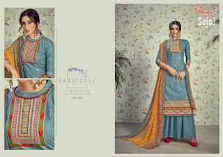 Lawn Cotton Suits wholesale price | Harshit Sejal catalog