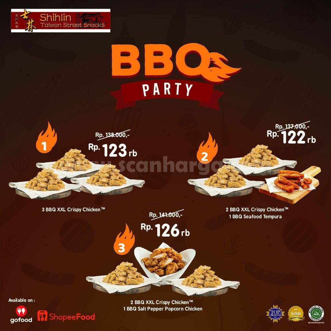 Promo SHIHLIN BBQ PARTY - Harga mulai Rp. 122.000