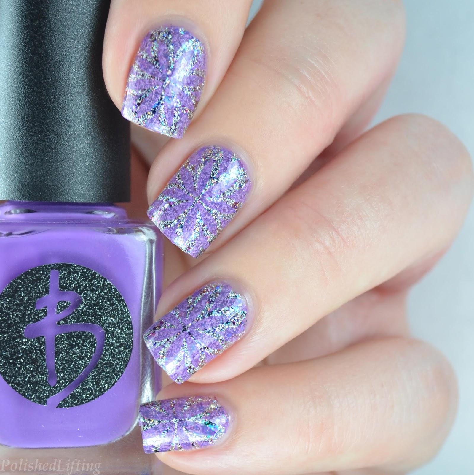 Nail Art Supplies London: MoYou London Kaleidoscope Nail Art Featuring Darling Diva