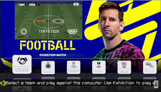 Download eFootball PPSSPP Chelito V1 Olympic Tokyo 2020 English Version Update Transfer 2022 & New Kits