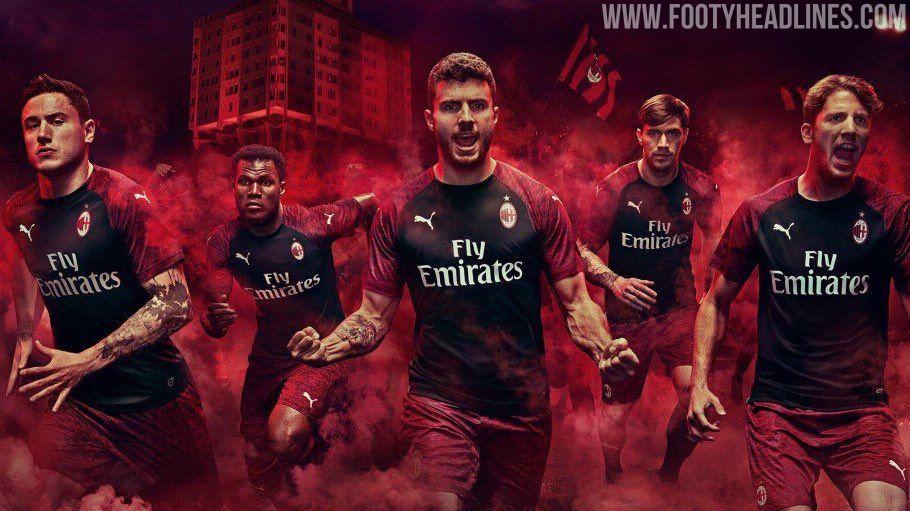 huge discount 5caec a1ab2 Milan 18-19 Third Kit Released - Footy Headlines