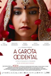 """Poster do filme """"A Garota Ocidental - Entre o Coração e a Tradição"""""""