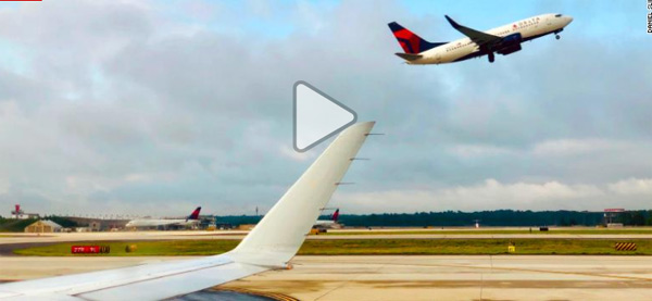 A Delta flight was forced to make an emergency landing when one of the plane's engines failed, News, Flight, Trending, Video, Passengers, World