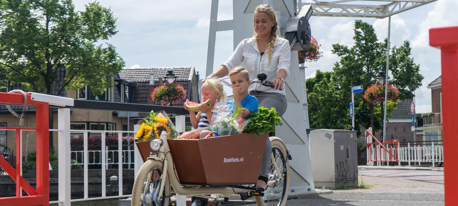 Бакфитс. Фото bakfiets.nl