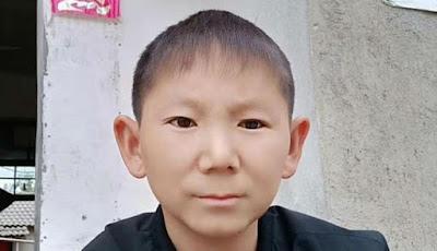 Zhu Shengka dengan wajah anak kecil 6 tahun