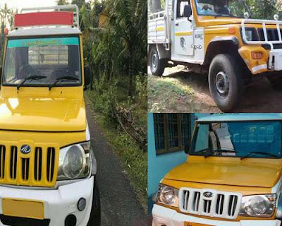 bolero pickup rent in kerala kochi