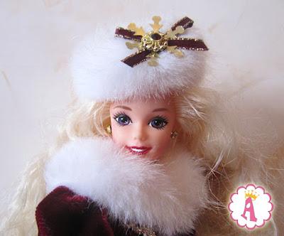 Коллекционная кукла Barbie Happy Holidays 1996