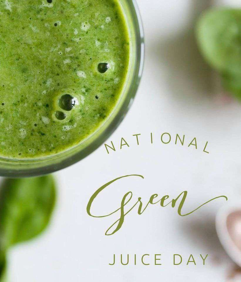 National Green Juice Day Wishes Lovely Pics