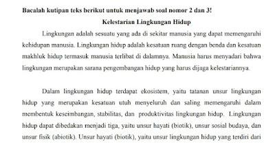 Latihan Soal US Bahasa Indonesia SMP