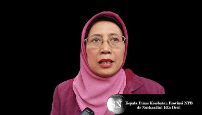 Kepala Dinas Kesehatan Provinsi NTB, dr Nurhandini Eka Dewi