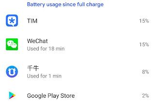 Cek dan matikan aplikasi yang paling boros penggunaan daya baterai