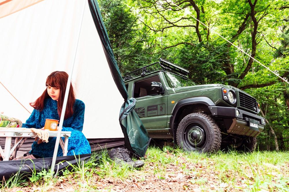 Suzuki Jimny độ bodykit mang phong cách Land Rover Defender