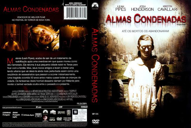 Capa DVD Almas Condenadas